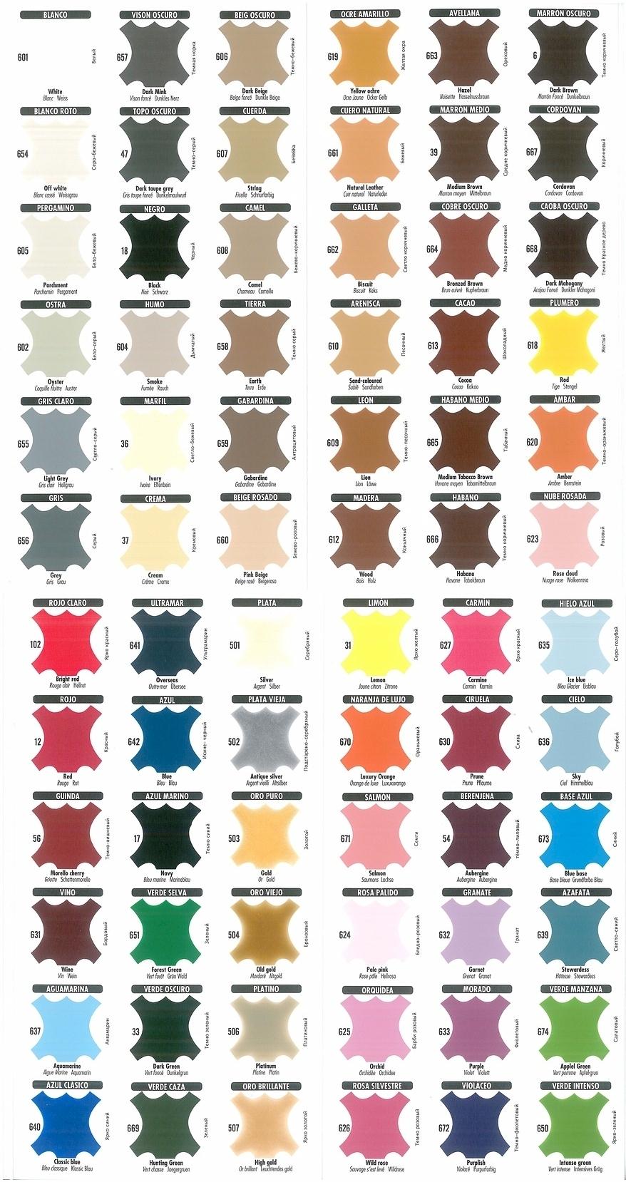 Orange Leather Shoe Dye
