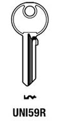Hook 1236: Union S = UNI59R - Keys/Cylinder Keys- General