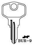 Hook 3278: BUR-9 - Keys/Cylinder Keys- General