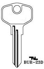 Hook 3280: BUR-23d - Keys/Cylinder Keys- General