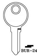 Hook 3281: BUR-24 - Keys/Cylinder Keys- General