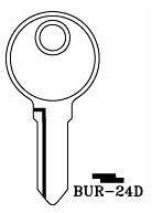 Hook 3282: BUR-24d - Keys/Cylinder Keys- General