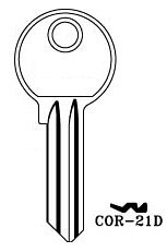 Hook 3286: COR-21D - Keys/Cylinder Keys- General
