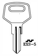 Hook 3294: EXS-5 - Keys/Cylinder Keys- General