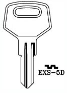 Hook 3295: EXS-5D - Keys/Cylinder Keys- General