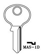 Hook 3304: MAS-1D - Keys/Cylinder Keys- General