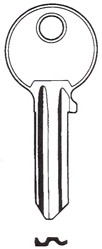 Hook 6027 jma = Ci-iL....Silca=CS207 - Keys/Cylinder Keys- General