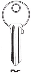 Hook 6028 jma = Ci-dL....Silca= CS206 - Keys/Cylinder Keys- General