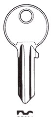Hook 6032 hd =NS9CS H156 brass - Keys/Cylinder Keys- General