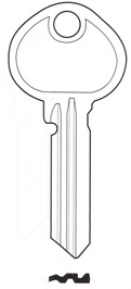 Hook 6043 hd = YAX5 Hd Brass - Keys/Cylinder Keys- General
