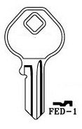 Hook 3385 FED-1 - Keys/Cylinder Keys- Specialist
