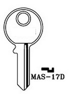 Hook 3403 MAS-17D - Keys/Cylinder Keys- General
