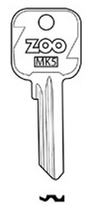 Hook 3422 Zoo Genuine GC125 - Keys/Cylinder Keys- General