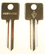 Hook 3445 Gridlock cylinder key gen hd = GC130 GBS1 - Keys/Cylinder Keys- General