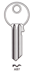 ABUS AB7 Hook369 - Keys/Cylinder Keys- General