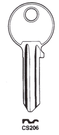 Hook 399: CISA CS206 Ci-DL - Keys/Cylinder Keys- General