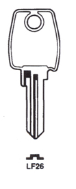 Hook 703: S = LF26 jma = LF-24 hd = H213 - Keys/Cylinder Keys- General