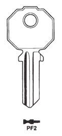 Hook 720: Prefer PF2 PR-11 - Keys/Cylinder Keys- General