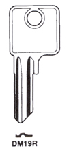 Hook 996: S = DM19R....E = DM24R - Keys/Cylinder Keys- General