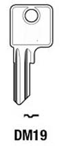 Dom DM19 Hook 1473 - Keys/Cylinder Keys- General
