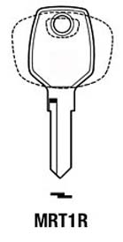 Hook 1542: MRT1R MRT10L - Keys/Cylinder Keys- General