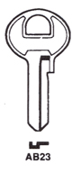 Abus AB23 Hook 1625 - Keys/Cylinder Keys- General