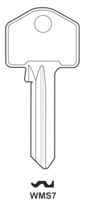 Hook 1636: WMS WMS7 H623 H0623 jma = WM-1d - Keys/Cylinder Keys- General
