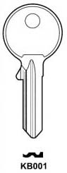 Hook 2096: Sterling KB001 - Keys/Cylinder Keys- General