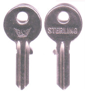 Hook 2107: Sterling KB015 - Keys/Cylinder Keys- General