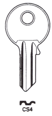 Hook 973: CISA CS4  - Keys/Cylinder Keys- General
